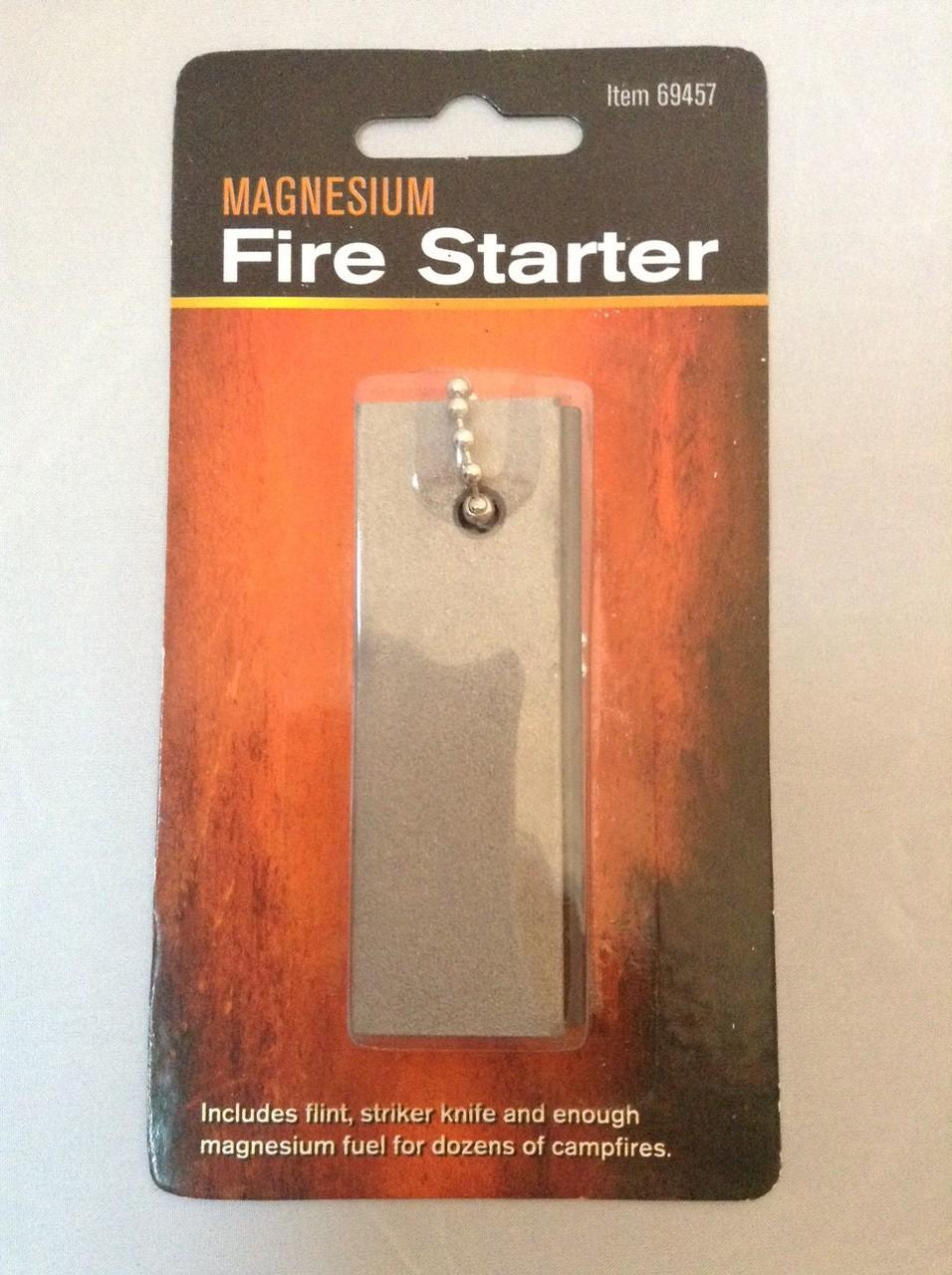 Flint & Magnesium Fire Starter