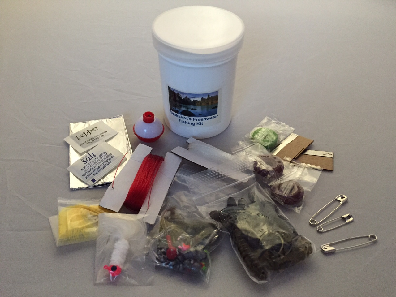 Buckshot's Emergency Freshwater Fishing Kit