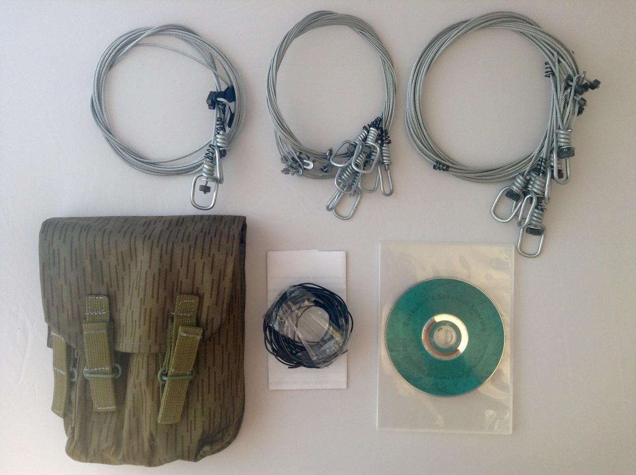 Buckshot's Emergency Snare Kit & Survival Snaring DVD