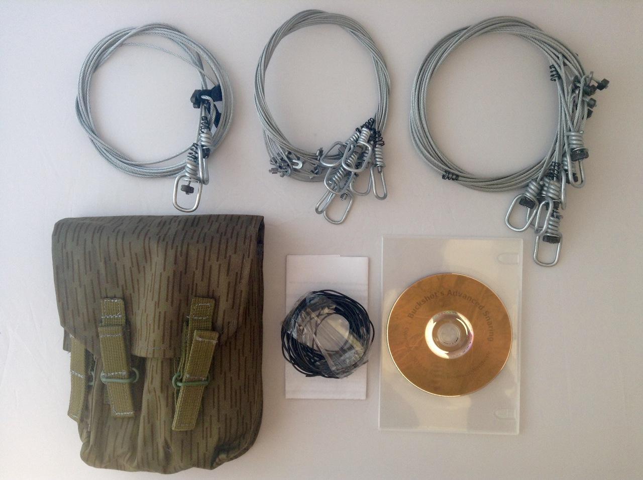 Buckshot's Emergency Snare Kit & Advanced Survival Snaring DVD