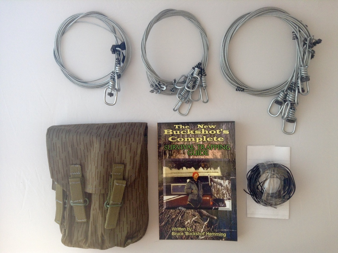Buckshot's Emergency Snare Kit & Buckshot's Complete Survival Trapping Guide