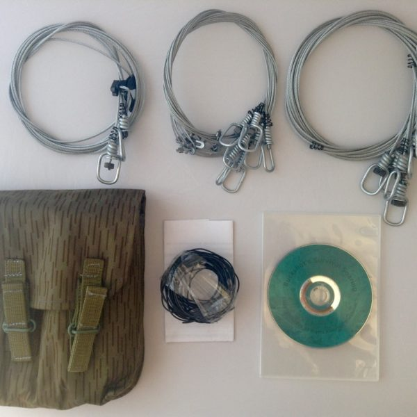 Buckshot's Emergency Snare Kit & Survival Snaring DVD
