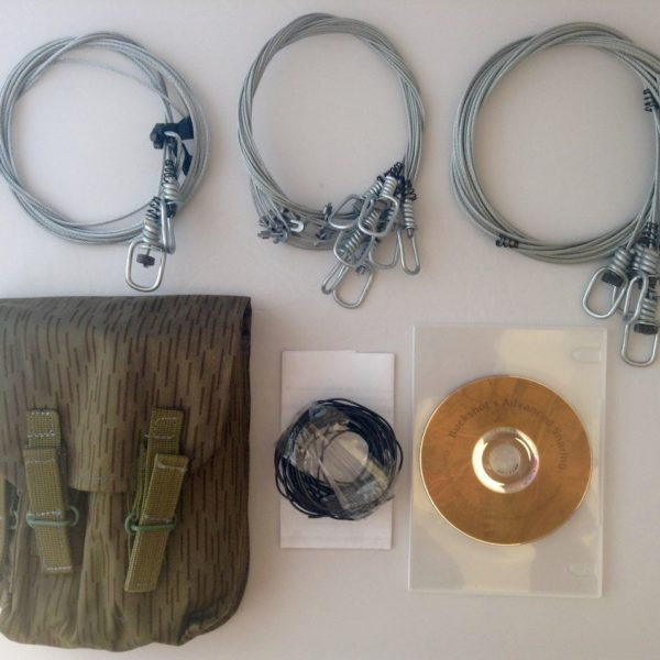 Buckshot's Emergency Snare Kit & Advanced Survival Snaring DVD