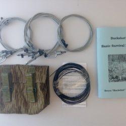 Buckshot's Small Snare Kit & Buckshot's Basic Survival Manual