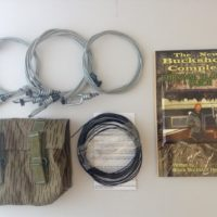 Buckshot's Small Snare Kit & Buckshot's Complete Survival Trapping Guide