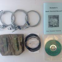 Buckshot's Small Snare Kit, Buckshot's Basic Survival Manual & Survival Snaring DVD