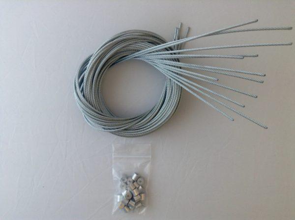 1 Dozen (12) Camlock Snares Repair Kit