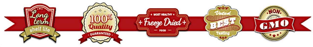 legacy freeze dried bulk foods