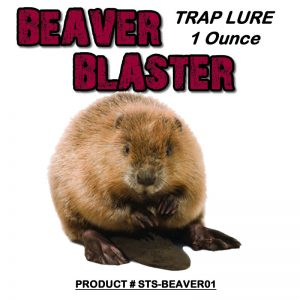 1 Ounce Bottle Of Beaver Blaster Lure