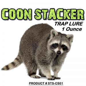 1 Ounce Bottle Of Raccoon Stacker Lure