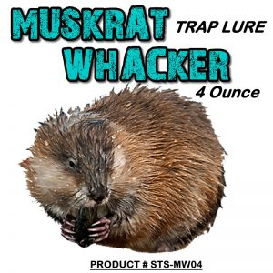 4 Ounce Bottle Of Muskrat Whacker Lure