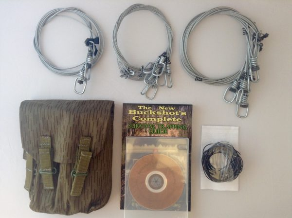 Buckshot's Emergency Snare Kit, Advanced Survival Snaring DVD & Buckshot's Complete Survival Trapping Guide