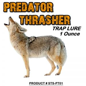1 Ounce Bottle Of Predator Thrasher Lure